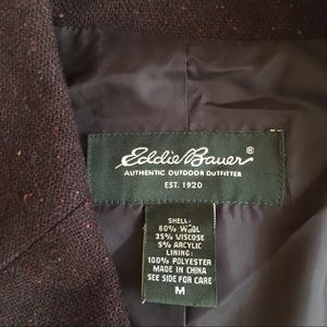 Brown Eddie Bauer blazer